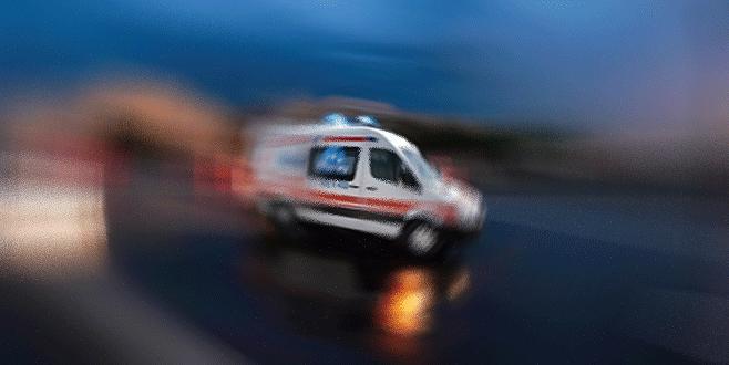 Bursa'da bisikletlinin çarptığı kişi hayatını kaybetti!