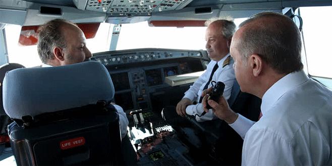 Erdoğan'dan pilotlara büyük jest
