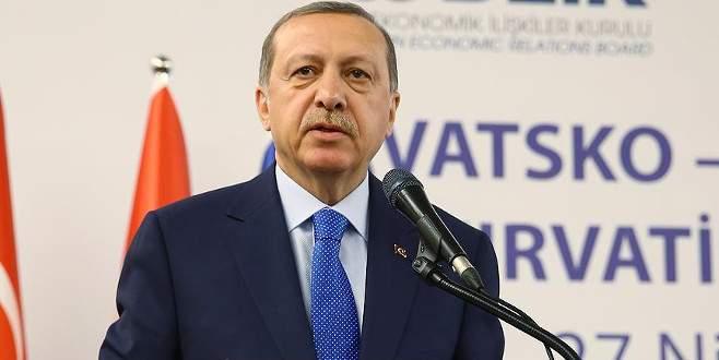 Cumhurbaşkanı Erdoğan Hırvatistan-Türkiye İş Forumu'nda konuştu