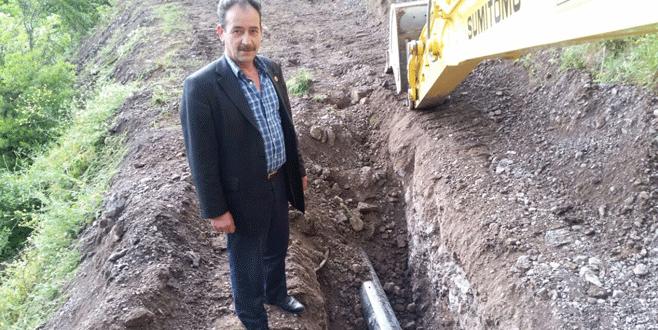 Keramet Mahallesi'nin içme suyu hattı yenileniyor