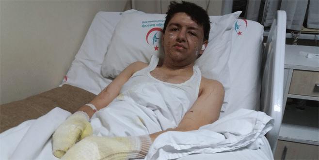 Bursa'daki patlamada yaralananlar dehşet anlarını anlattı