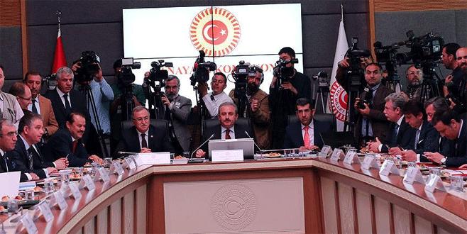 TBMM Anayasa Komisyonu'ndaki görüşme ertelendi