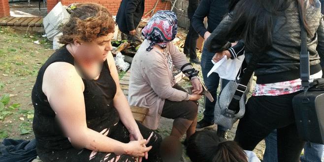 Bursa'daki saldırıda yaralanan kadın dehşet anlarını anlattı