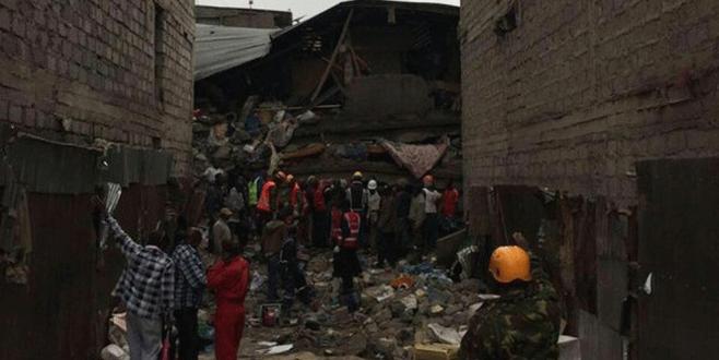 Kenya'da bina çöktü: En az 7 ölü