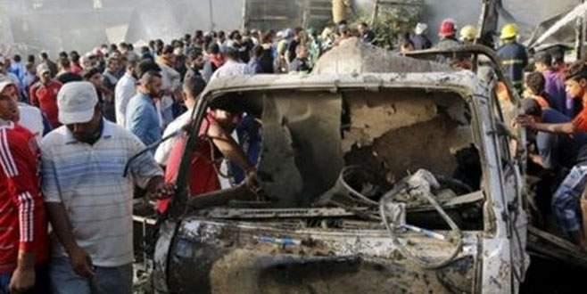 Bağdat'ta bomba yüklü araç patlatıldı