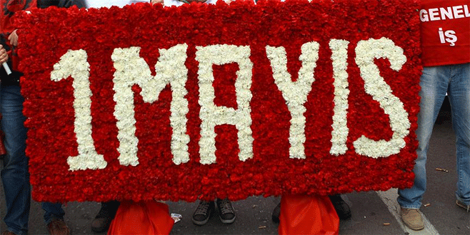 1 Mayıs kutlamalarının adresi Kent Meydanı