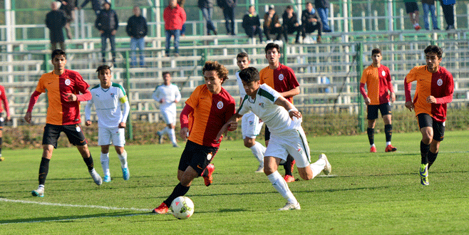 U19 Timsah fırsat tepti: 1-1