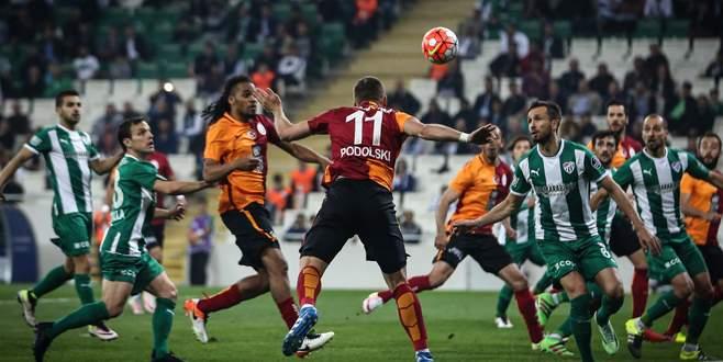 Bursaspor'a Nisan ayı yaramadı