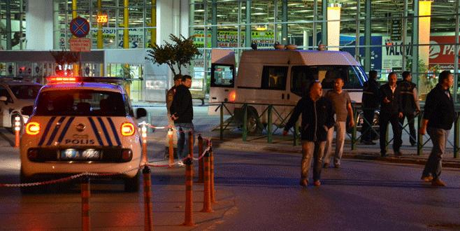 Bursa'da otobüs terminalinde şüpheli paket paniği