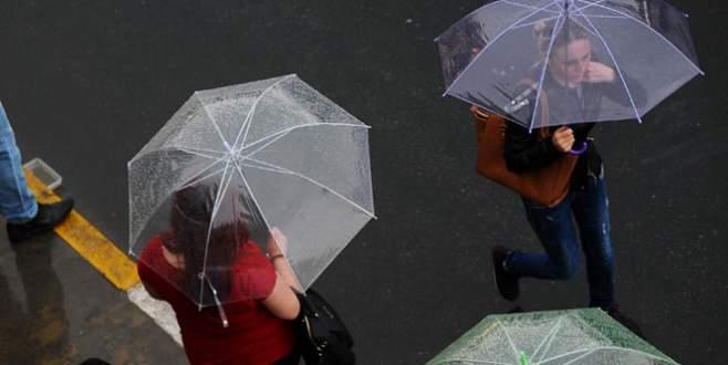 Meteoroloji'den uyarı! Sağanak yağış geliyor!