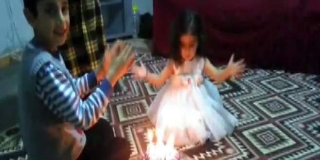 Minik kızın doğum günü faciayla sona eriyordu!