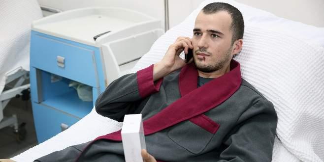 Erdoğan'dan yaralı askere yeni telefon jesti