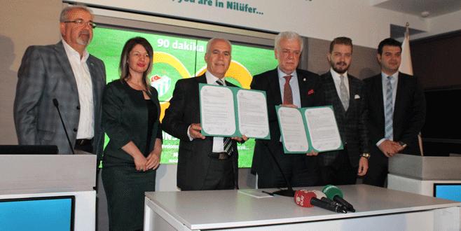 Bursaspor'a store için arsa desteği