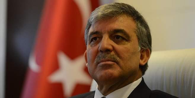 Abdullah Gül'den hakkındaki iddialara cevap