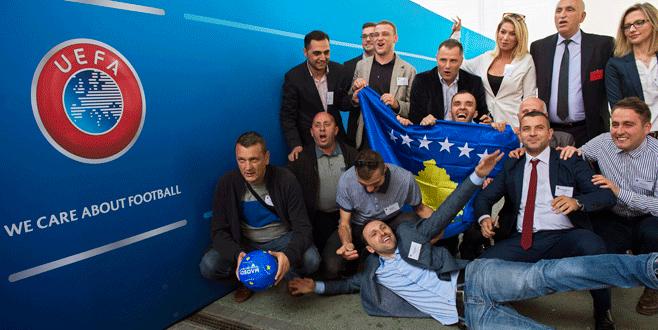 Kosova'nın UEFA zaferi