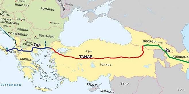TANAP'ta aslan payı Türk müteahhitlerin