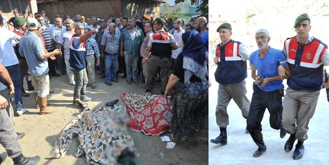 Bursa'da 3 komşusunu öldüren sanık hakkında karar verildi