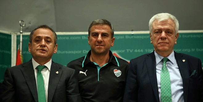 Bursaspor, Hamzaoğlu ile sözleşmesini uzattı