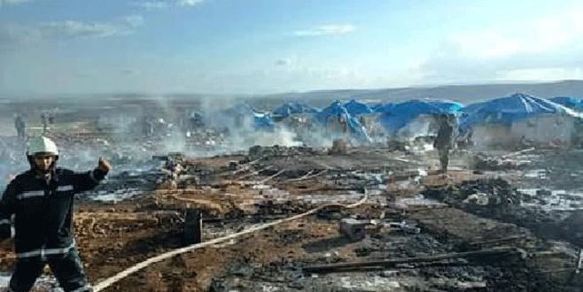 Sarmada kasabası vuruldu: 60 ölü