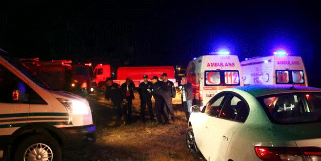 Yangın faciası: Baba ve 6 çocuğu öldü