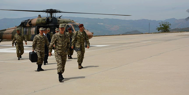 Komutan Şırnak'ta