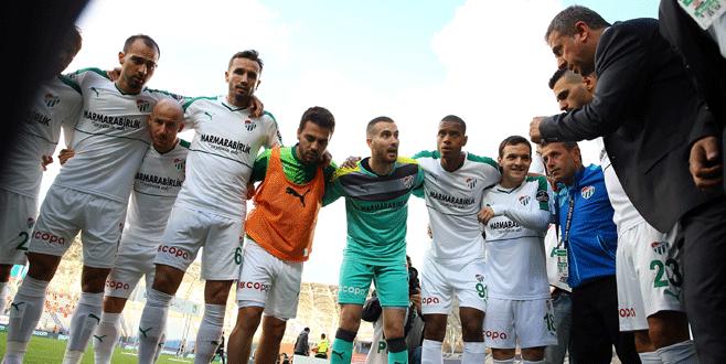 Osmanlıspor-Bursaspor maçından kareler
