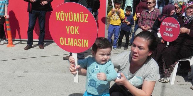 Kayapa'da çevre protestosu