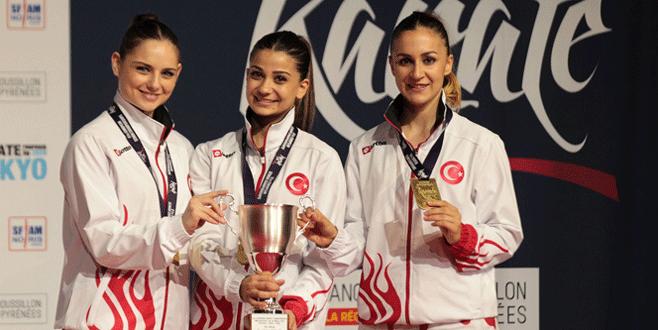 Karate Milli Takımı'ndan madalya rekoru