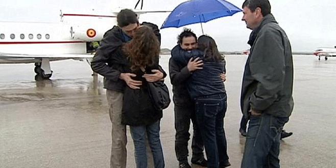 İspanyol gazeteciler serbest