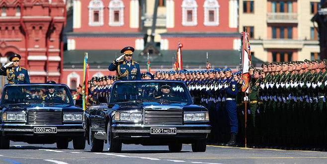 Rusya'da 9 Mayıs Zafer Günü kutlamaları