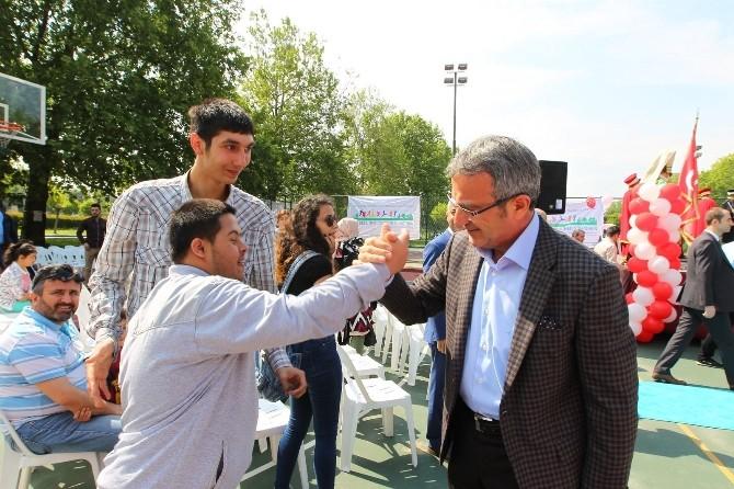 Başkan Köşker, 'Kelebeğin Düşü' Engelsiz Festivaline Katıldı