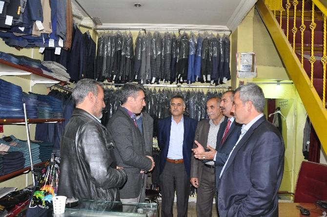 Belediye Başkan Vekili Kardağı'ndan Esnaf Ziyareti