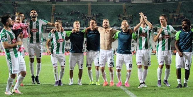 Konyaspor Avrupa Ligi'ni garantiledi