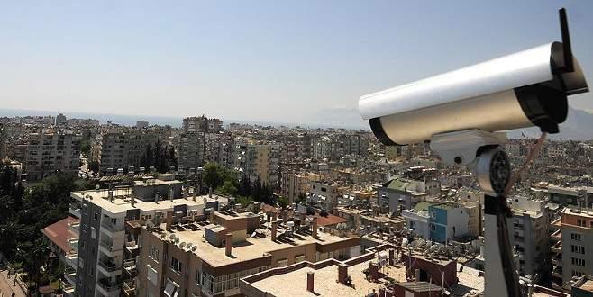 Kent güvenliğine 40 bin yeni kamera