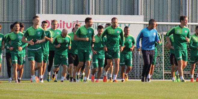 Bursaspor'da Torku Konyaspor hazırlıkları başladı
