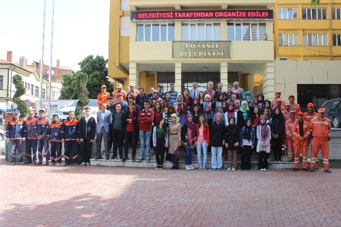 Liseli Gençler, Çevre İçin Göbel Termel Tesisleri'nde Buluştu
