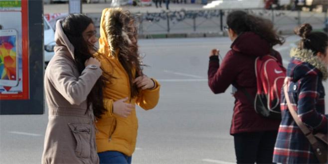 Lodos Bursa'da etkili oldu