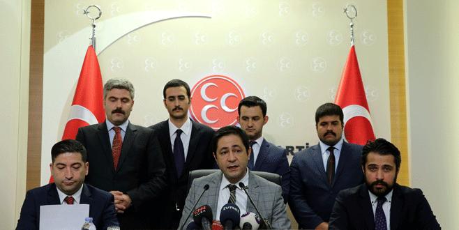 MHP'nin avukatı: Kurultayın yapılması hukuken mümkün değil