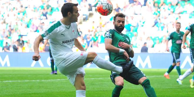 Bursaspor – Torku Konyaspor maçından kareler