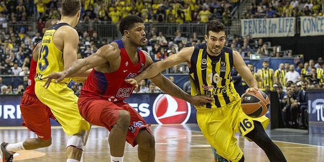 Fenerbahçe THY Avrupa Ligi ikincisi