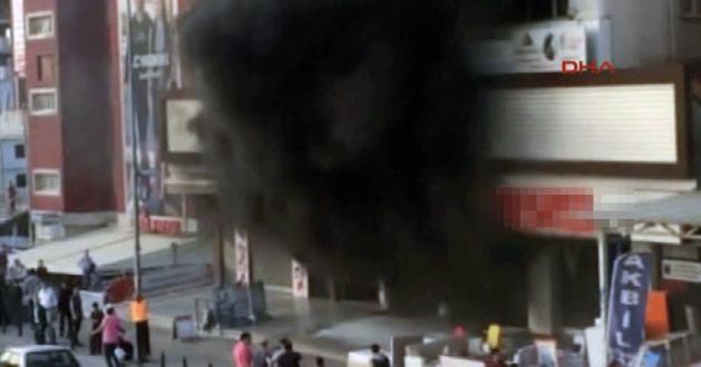 İş merkezindeki yangında can pazarı