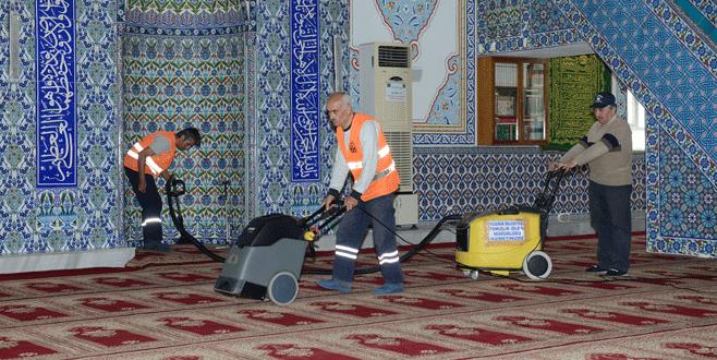 Yıldırım'da camilerde Ramazan hazırlığı