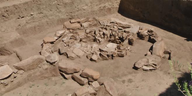 5 bin yıllık savaşçı mezarı bulundu