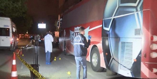 Takım otobüsüne silahlı saldırı