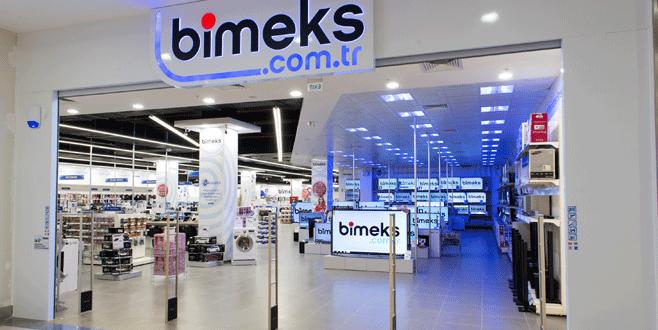 Bimeks'ten 5 yeni mağaza