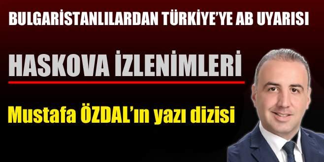 Bulgaristanlılardan Türkiye'ye ABuyarısı