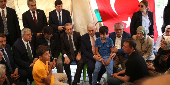AK Parti Genel Başkan adayı Binali Yıldırım, Diyarbakır'da