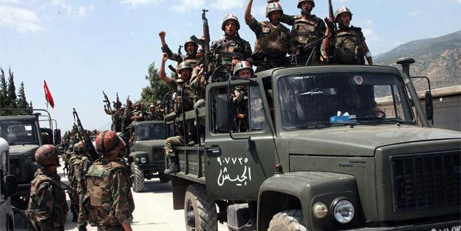 Stratejik bölge Esad'ın eline geçti