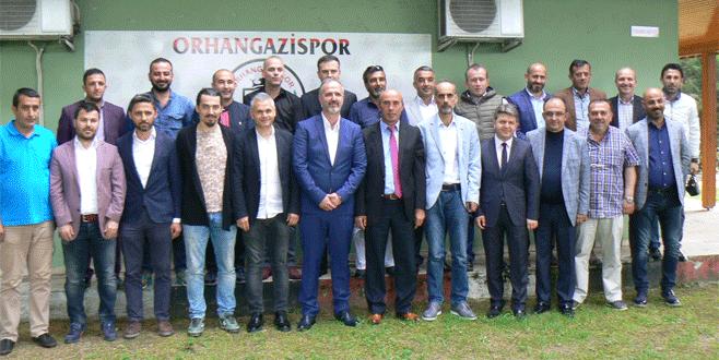 Orhangazispor'da görevler belli oldu