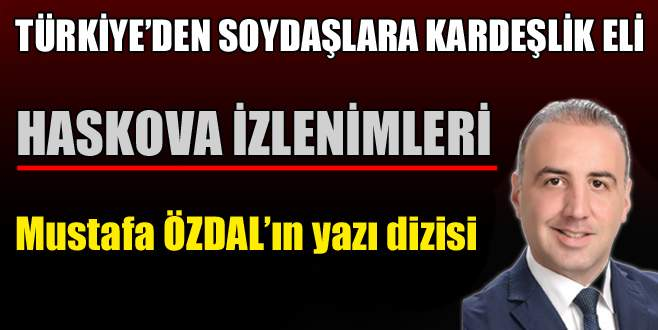 Türkiye'den soydaşlara kardeşlik eli